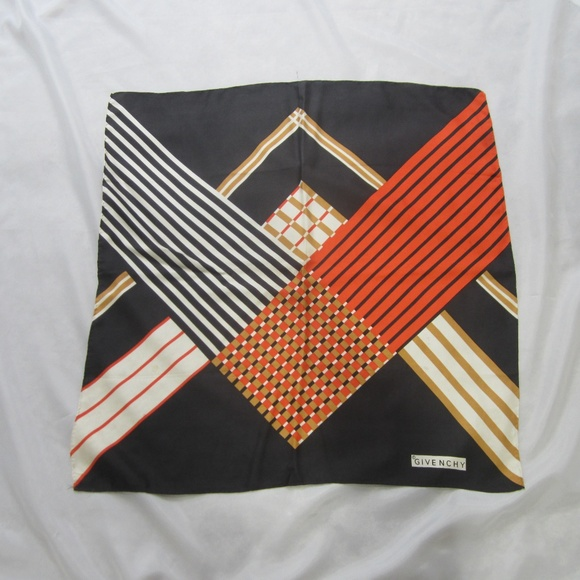 5ac0406b8d5 Givenchy Accessories   Silk Square Scarf Vintage Spring 27 X 27 ...